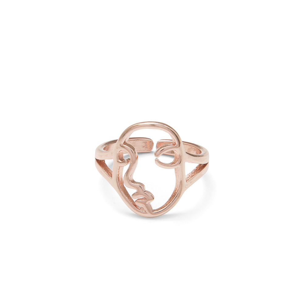 Rose Face Ring