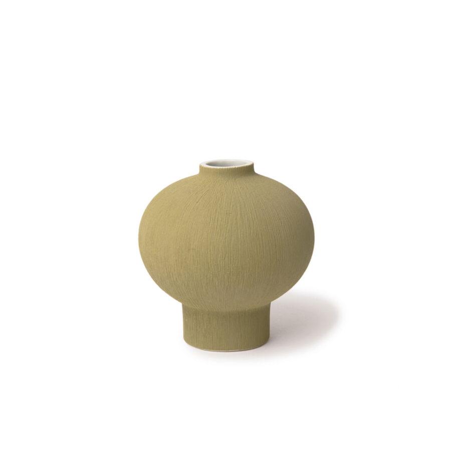Cecilia Yellow/green bud vase