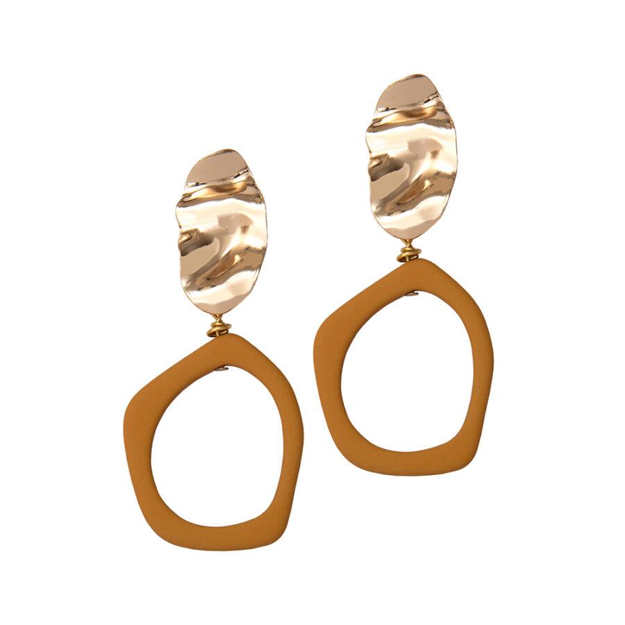 Alexa Earrings - Sand