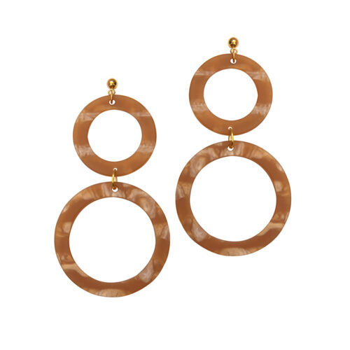 Cora Earrings in Cedar
