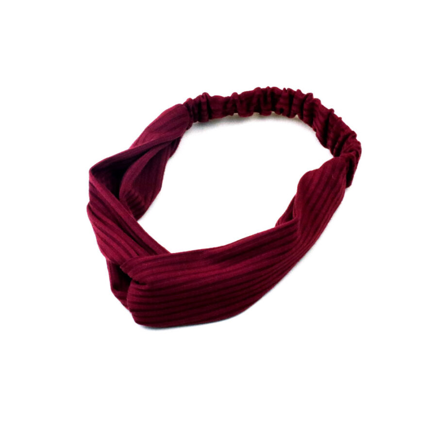 Hairband in Flame Red
