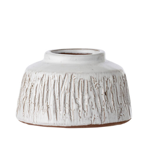 White Deco Vase