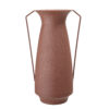Brown Iron Vase