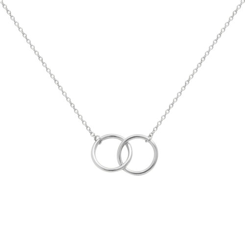 Silver Hera Interlock Necklace