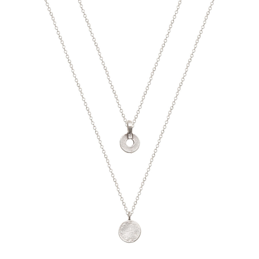 Silver Olivia Necklace