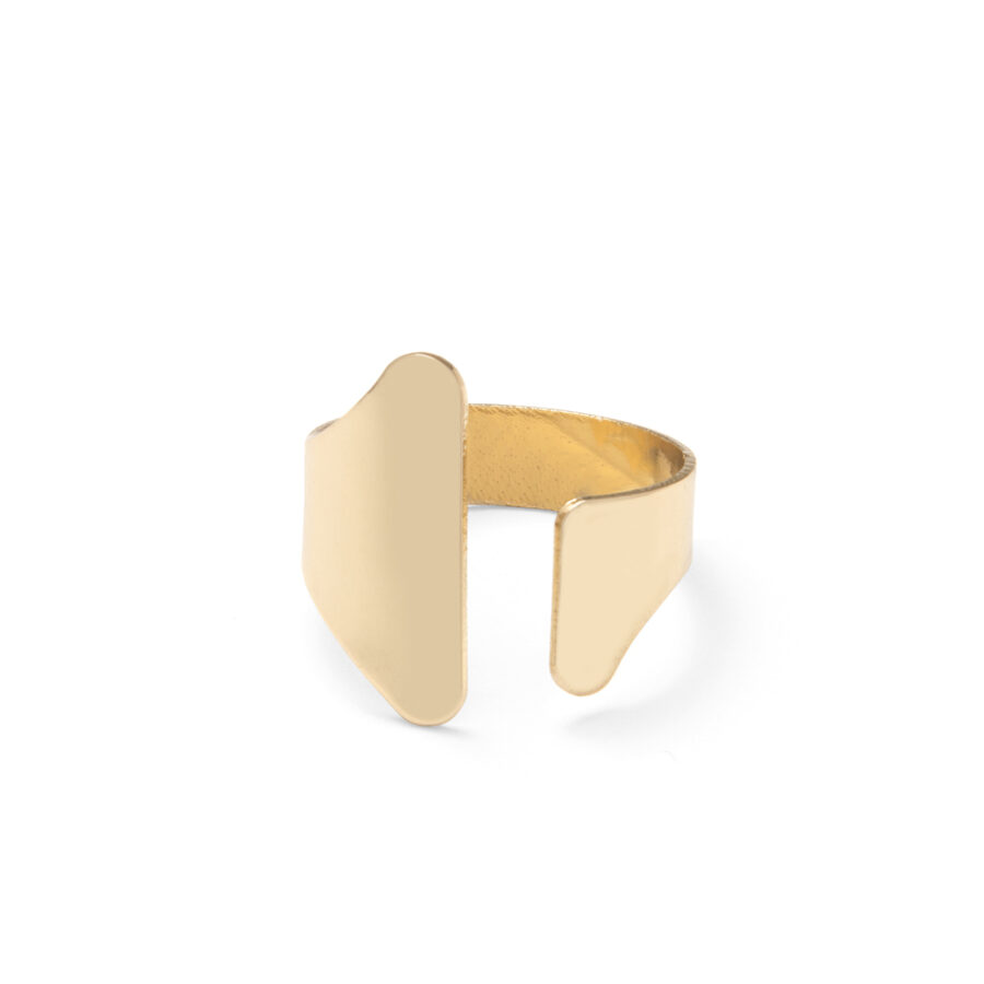 Gold Armour Ring