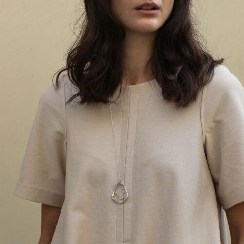 Silver Sofia Necklace
