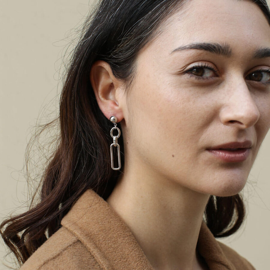 Women's jewellery, Gold Earrings, design-led jewellery, Handmade jewellery, Fashion, Style, Women's accessories