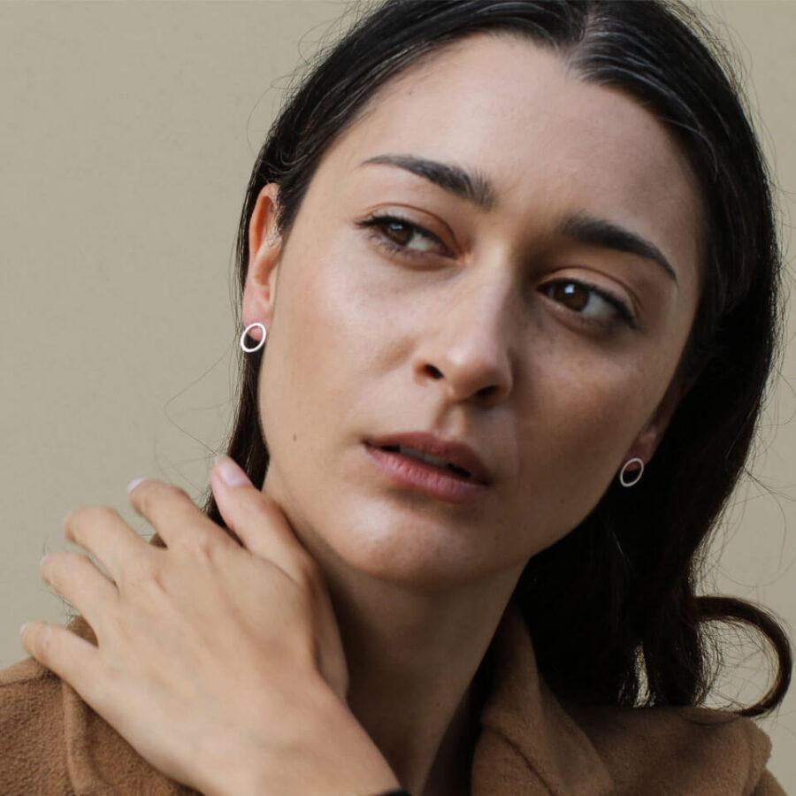 Women's jewellery, earrings, accessory, accessories, modern design, handmade jewellery, fashion, nickel free, London jewellery