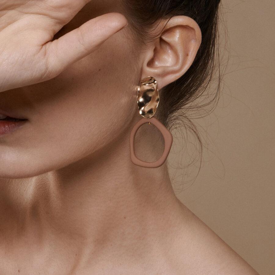 Women's jewellery, Earrings, Resin Earrings, Eco Friendly, minimal, abstract, accessory, accessories