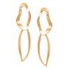 Women's jewellery, gold earrings, statement earrings, jewellery, fashion, abstract