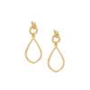 Women's jewellery, gold earrings, abstract earrings, minimal earrings, jewellery, abstract earrings