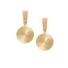 Women's Earrings, Jewellery, Gold Earrings, Modern, Fashion, Style, minimal