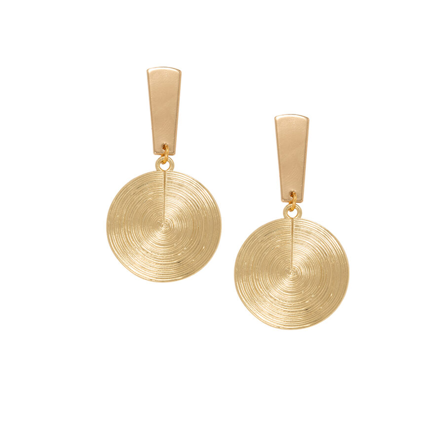 Women's Earrings, Jewellery, Gold Earrings, Modern, Fashion, Style, minimal