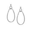 Women's jewellery, silver earrings, statement earrings, abstract earrings, design-led, fashion, modern earrings, style