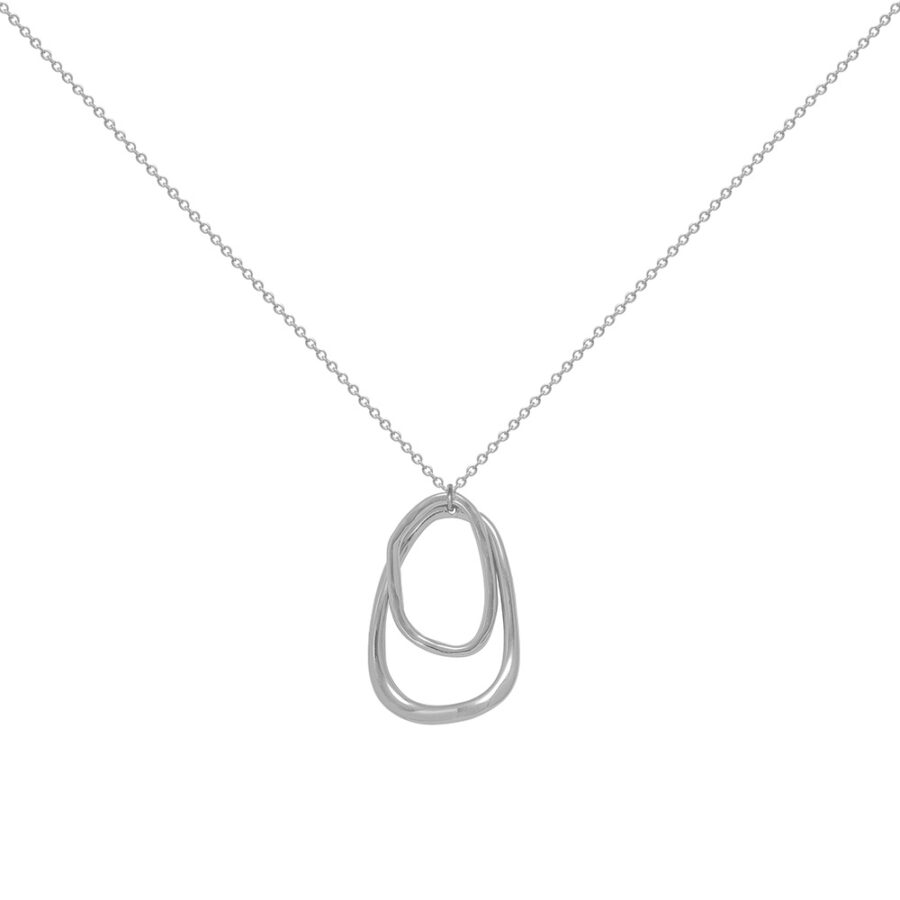 Women's jewellery, Silver Necklace, Necklace, modern, minimal, design-led jewellery, accessories, fashion, style