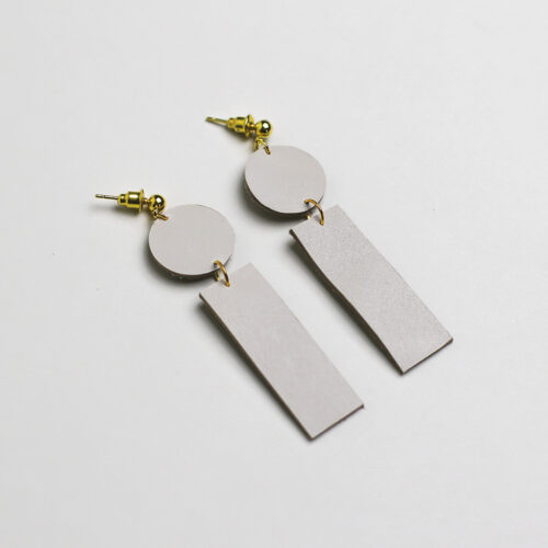 LE. Pale Earrings